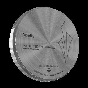 WhitePeaks CopraTi-5 Titano diskai MB Dantų Ekspertai dantuekspertai.lt