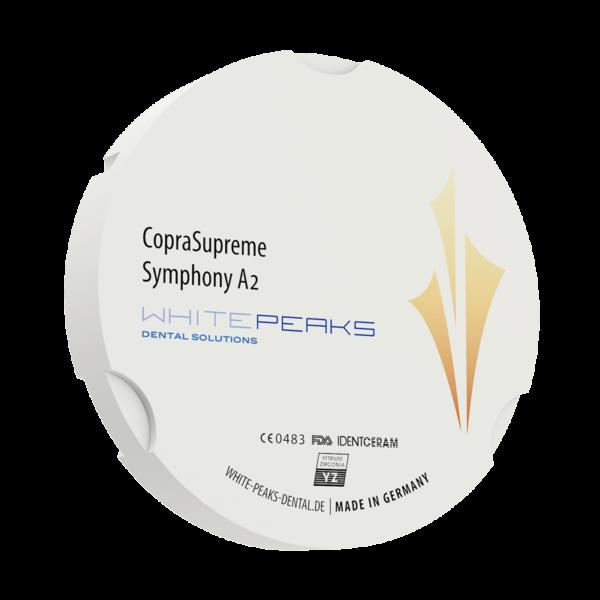 WhitePeaks CopraSupreme Symphony Cirkonio Diskai MB Dantų Ekspertai dantuekspertai.lt