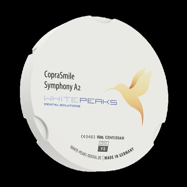 WhitePeaks coprasmile symphony Cirkonio diskai MB Dantų Ekspertai dantuekspertai.lt