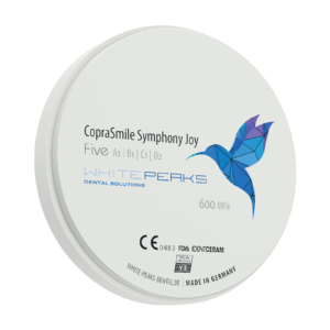 WhitePeaks coprasmile symphony joy Cirkonio diskai MB Dantų Ekspertai dantuekspertai.lt