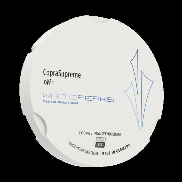 WhitePeaks coprasupreme 0M1 - 0M3 Cirkonio diskai MB Dantų Ekspertai dantuekspertai.lt
