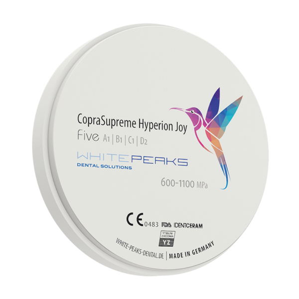 WhitePeaks coprasupreme hyperion joy 98 Cirkonio diskai MB Dantų Ekspertai dantuekspertai.lt